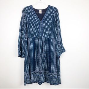 Anthropologie Akemi + Kin Patterned Dress